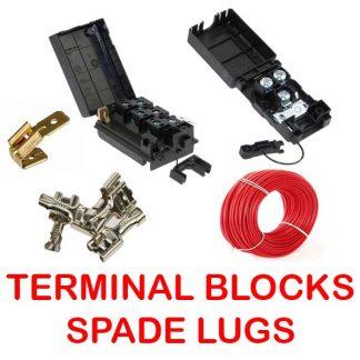 Terminal Blocks-Cable & Spade Lugs
